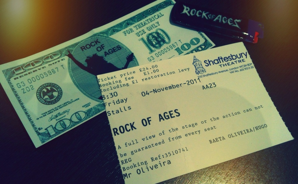 Rock of Ages (2/5)
